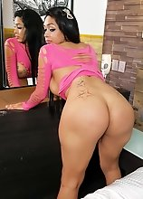 Michelle Sanchez is a sexy Latina tgirl with a smoking hot body, big boobs, a great ass and a rock hard cock! Enjoy this big booty tgirl jerking off!
