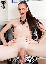 Brooke Zanell is a sexy tgirl with a hot body, legs that go on forever, samll tits and a big hard cock! Watch this sexy transgirl jacking har
